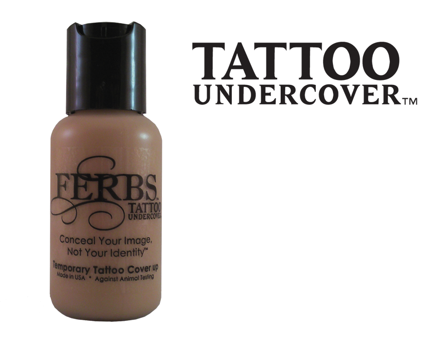 Tattoo undercover tattoo cover up makeup ferbs cosmetics for Tattoo foundation cover up