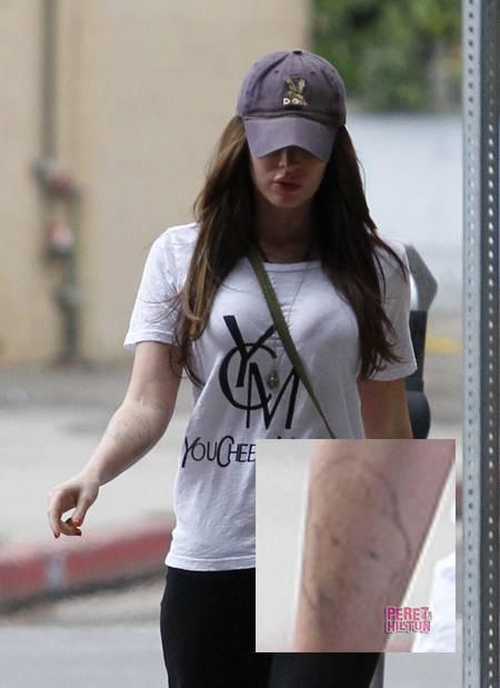 Megan Fox Fading Tattoo