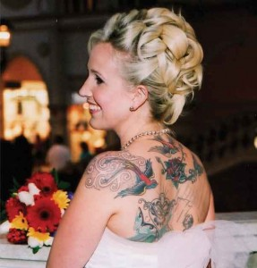 Cover up Tattoos - Wedding Day
