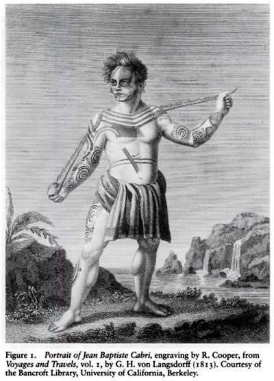 Tattoo History - Jean Baptiste Cabri